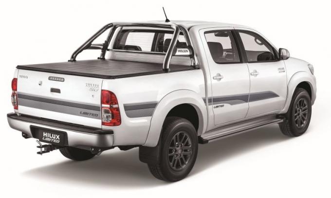 Toyota Hilux Limited, una versión especial